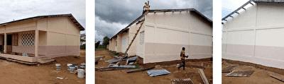 Réhabilitation d'une école #Benin
